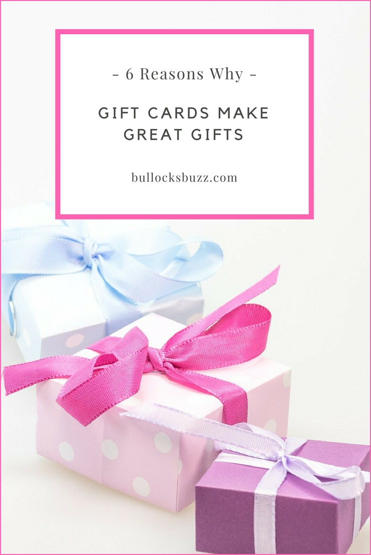 Not so long ago, giving gift cards as gifts was tacky. Not anymore, and it's easy to see why when there are so many reasons why gift cards make great gifts.