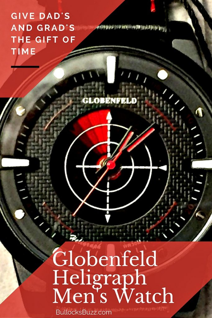The Globenfeld Heligraph Men's Watch offers stylish sophistication any man would be happy to wear.