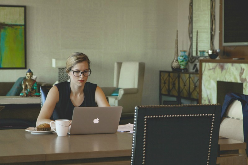 How To Succeed At Working From Home at desk