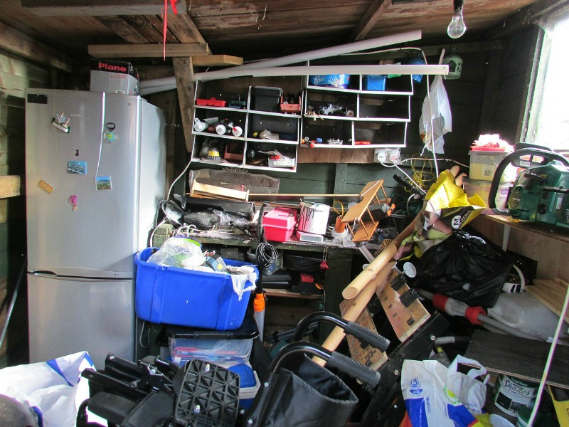 Tidy Home Tidy Mind Declutter Your Way To Happiness Today cluttered garage
