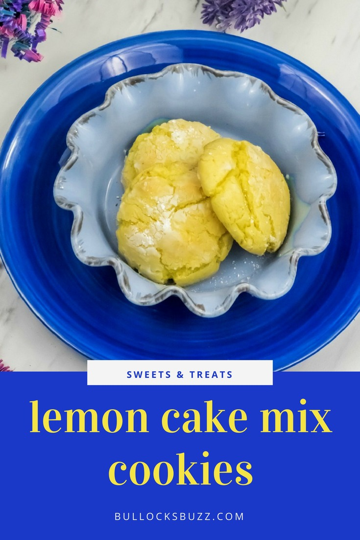 Soft, chewy, and easy-to-make these Lemon Cake Mix Cookies are perfect for any time you want a sweet treat.