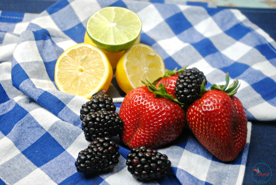 fresh fruits used in drink