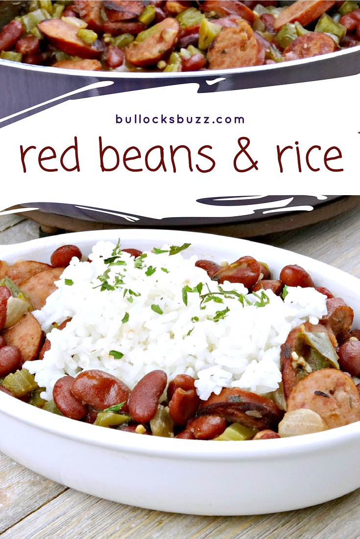 Enjoy Cajun food even when you're not in New Orleans with this simple weeknight Red Beans and Rice recipe. Smoky, hearty and slightly spicy, this incredibly delicious Red Beans and Rice is the ultimate Cajun comfort food. Canned beans makes this recipe quick and simple, yet rich in flavor.