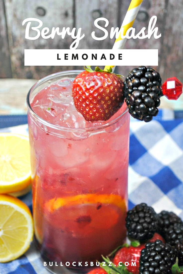 A simple, yet refreshing adult-only lemonade made with a splash of fresh squeezed lemon and lime, fresh berries and then topped off with Rum and Vodka. Berry Smash lemonade is sure to be a smash hit!