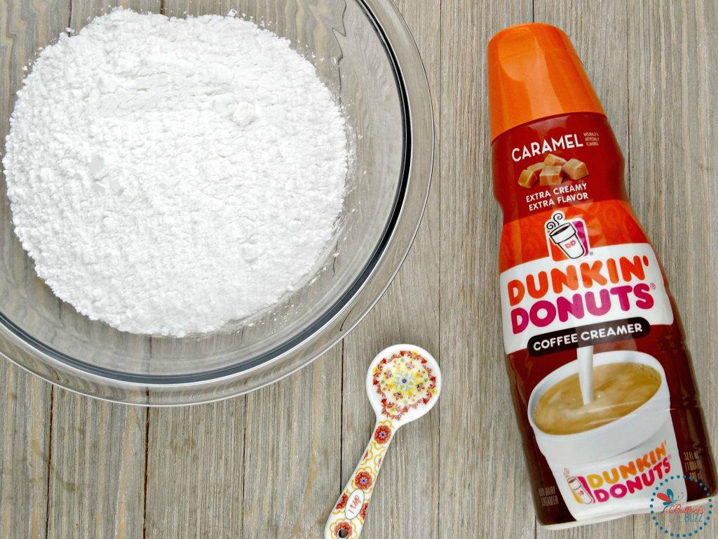 Mini Baked Donuts with Caramel Glaze glaze ingredients