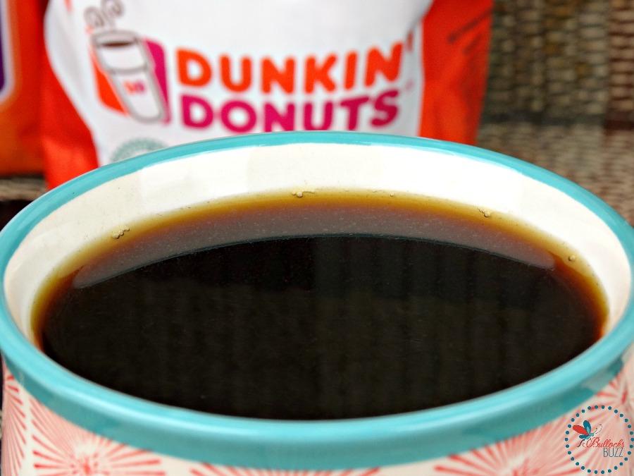Mocha Granola Dunkin Donuts coffee