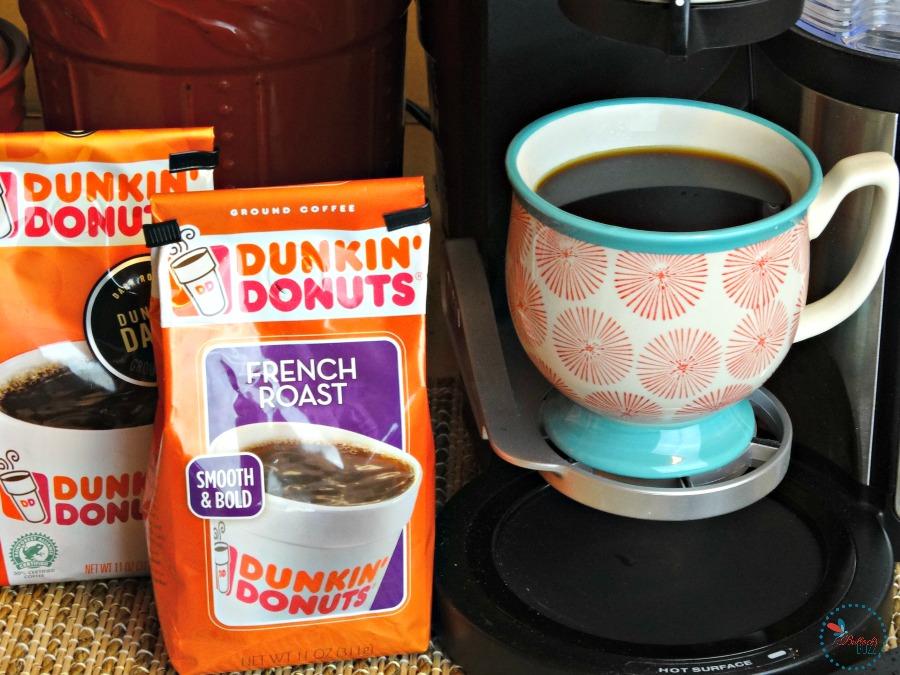 Mocha Granola made with Dunkin Donuts coffee
