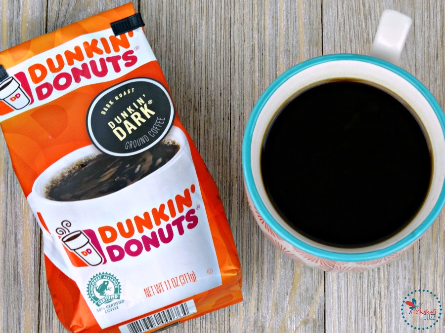 Mocha Granola with Dunkin Donuts Dark Roast make for a flavorful treat!