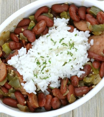 Red Beans and Rice – Tasty Cajun Recipe