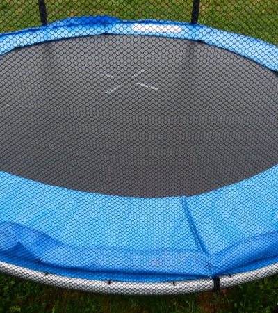 Essential Trampoline Maintenance: When You Can't Say No to That Face