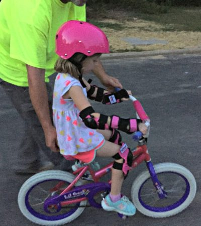 Make Bike Safety Fun with Wipeout Dry Erase Protective Gear