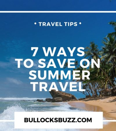 7 Simple Ways to Save on Summer Travel #ABSFY4X