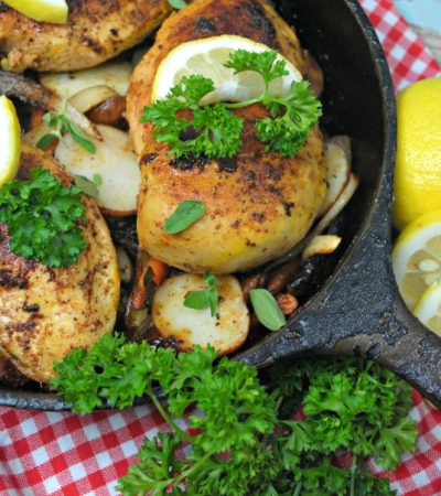 Lemon Tarragon Skillet Chicken – Easy Weeknight Meal