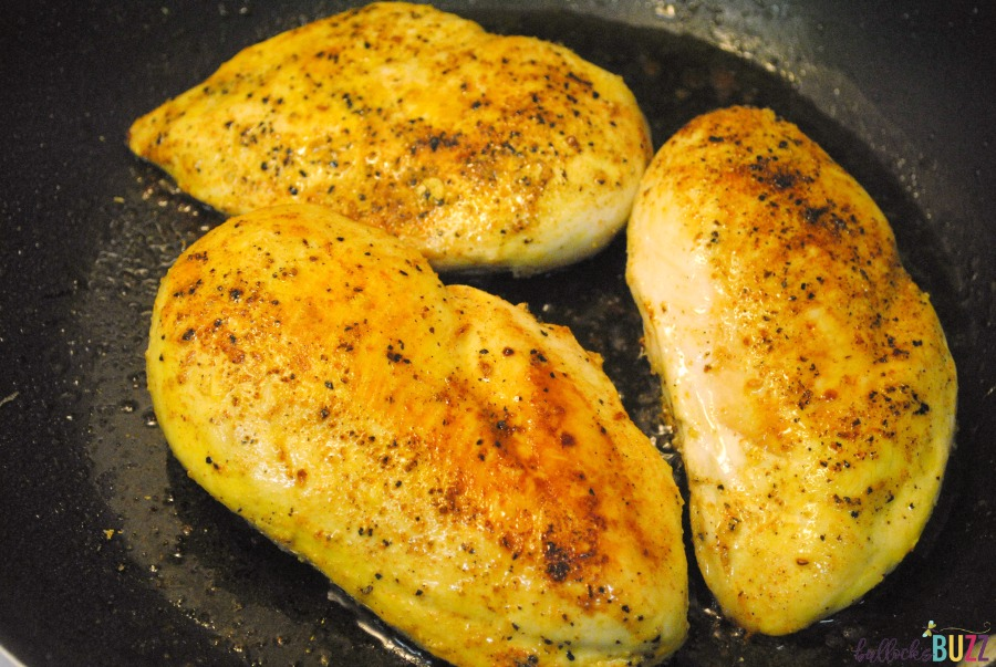 Lemon Tarragon Skillet Chicken saute chicken breasts