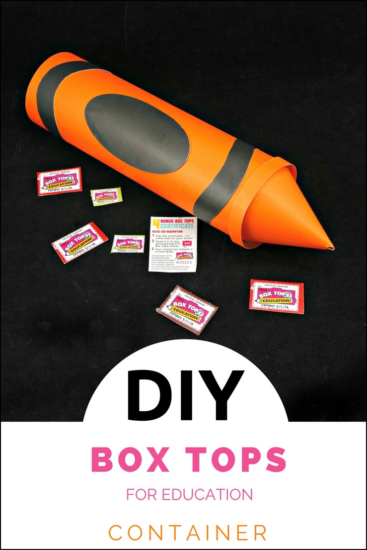 This DIY Box Tops for Education Holder is a fun way to keep up with those Box Tops for your child's school!