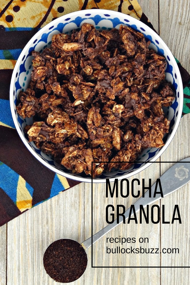 A hint of dark chocolate, rich coffee undertones and sweet almonds, honey and vanilla, give these crunchy clusters of Mocha Granola pack an irresistible punch!