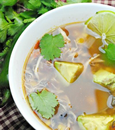 Spanish Lime Soup {Slow Cooker} – Sopa de Lima Style Soup Recipe
