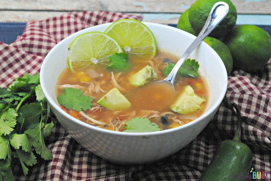 Spanish Lime Soup