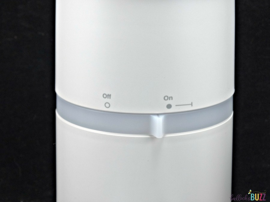 Thermacell Halo Mosquito Repeller on off switch