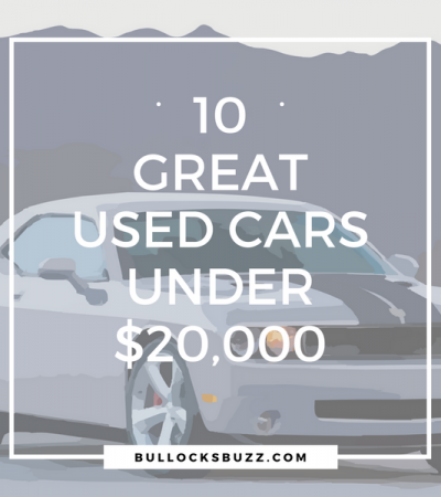 Ten Great Used Cars for Less Than $20,000 at Earnhardt Auto Centers