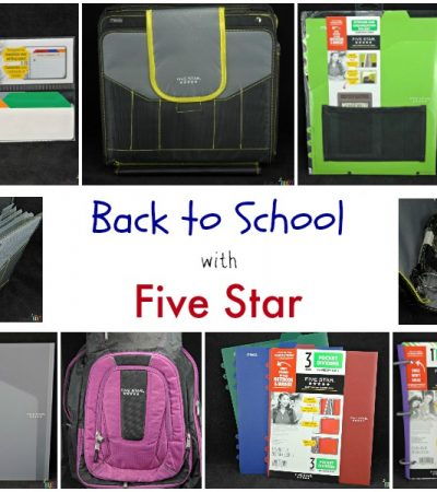 Back to School with Five Star School Supplies + Giveaway