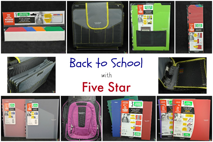 Latest school supplies from Five Star to make back to school easier and more organized