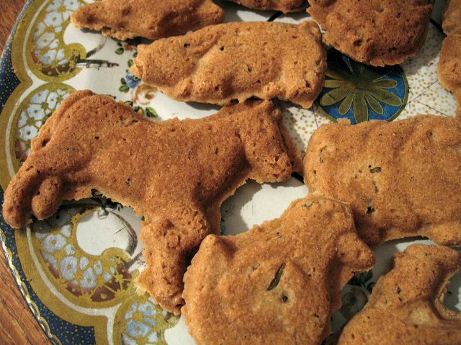 Recipes Using Fresh Herbs rosemary shortbread
