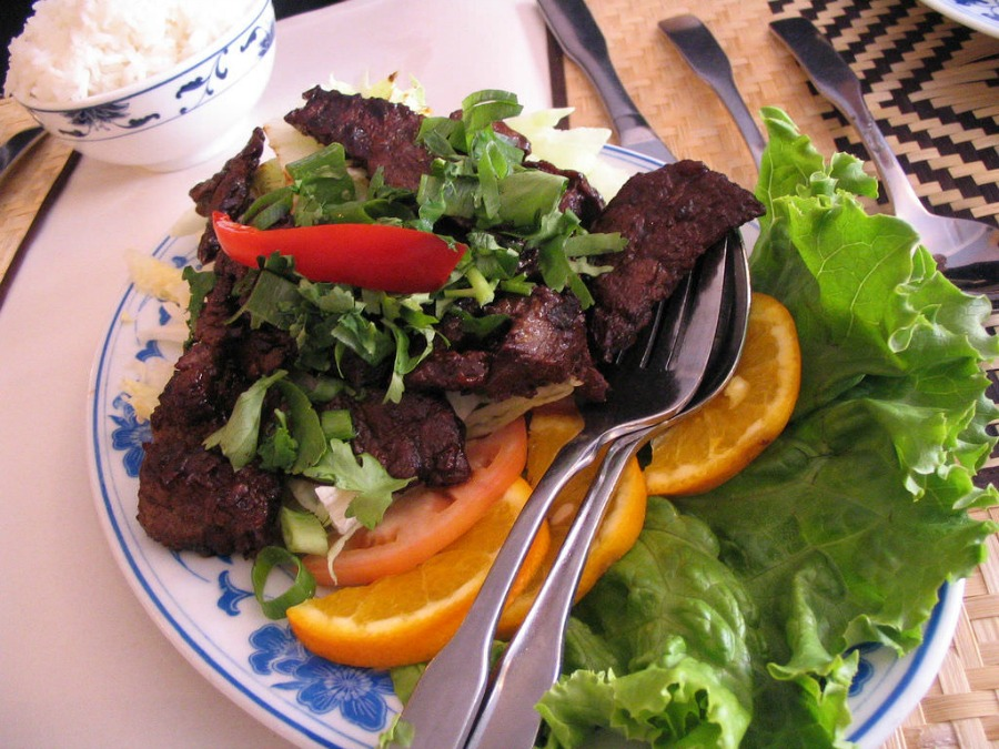 Quick Recipes Using Fresh Herbs Thai Beef Salad