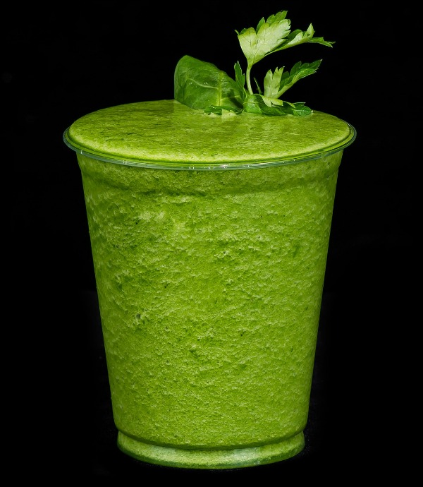 Healthy Cheap Recipes Using Fresh Herbs fruit shake with parsley