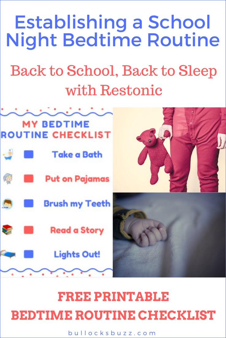 When it's back to school time, many kids struggle to get back into a bedtime routine. These tips and a free printable bedtime routine checklist can help!