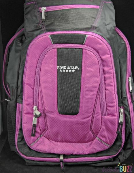 Five Star Expandable Backpack school supplies