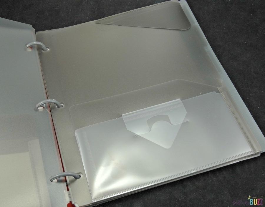 Inside of Five Star Hybrid Notebinder school supplies