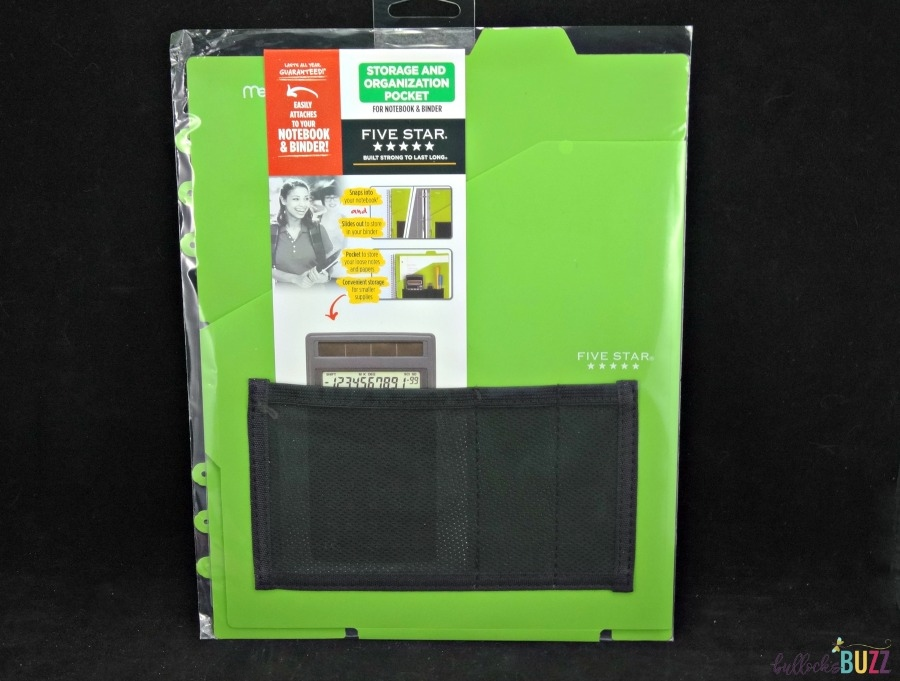 affordable school supplies from Five Star like this storage and organization pocket