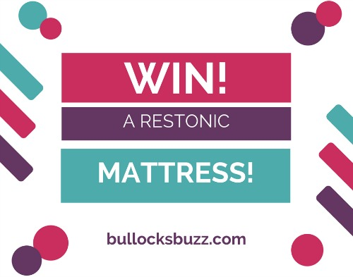 Win a Restonic mattress to help with your bedtime routine