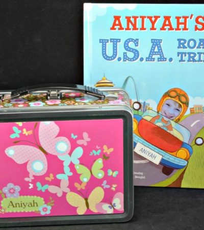 Back to School Fun with a Personalized Lunch Box & Book from I See Me!