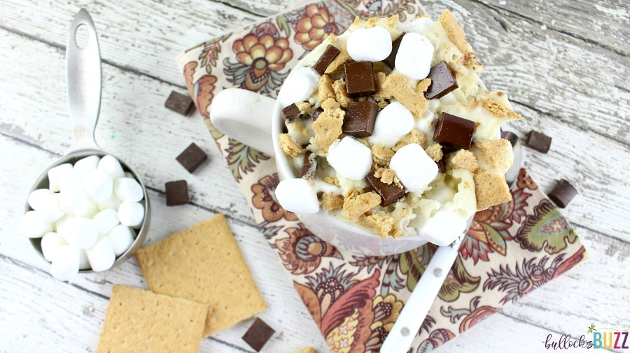 With no need for a campfire, you can enjoy the summery flavor of s'mores in less than five minutes with this delectable ooey, gooey microwavable S'mores Mug Cake recipe!