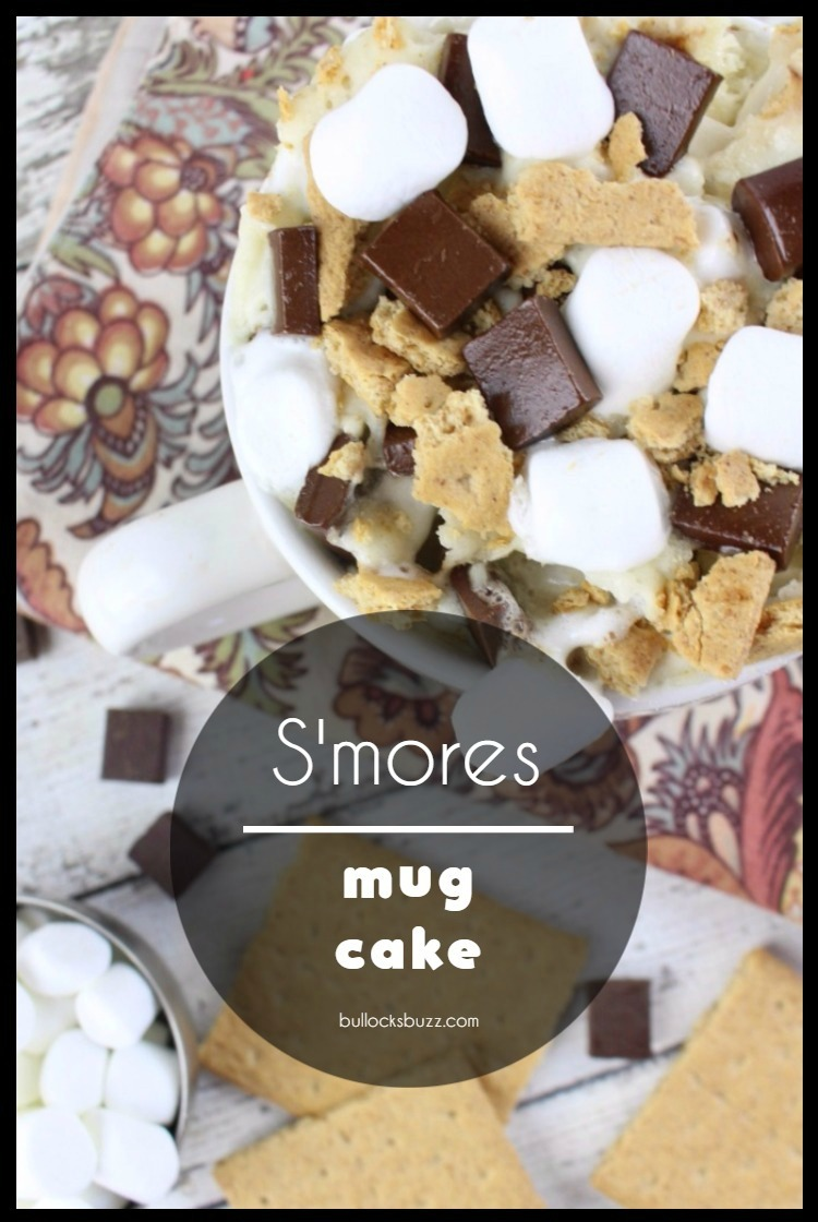 Packed full of chocolate, marshmallows and graham cracker crumbs, you can enjoy the summery flavor of s'mores in less than five minutes with this delectable ooey, gooey microwavable S'mores Mug Cake recipe! No campfire needed.