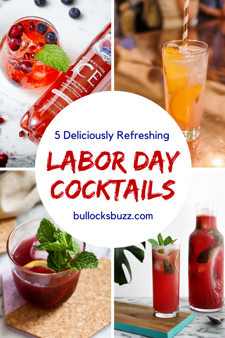 Say so long to summer with one of these delicious Labor Day cocktails. These mixed drink recipes are the perfect refreshment at your end-of-summer soiree.