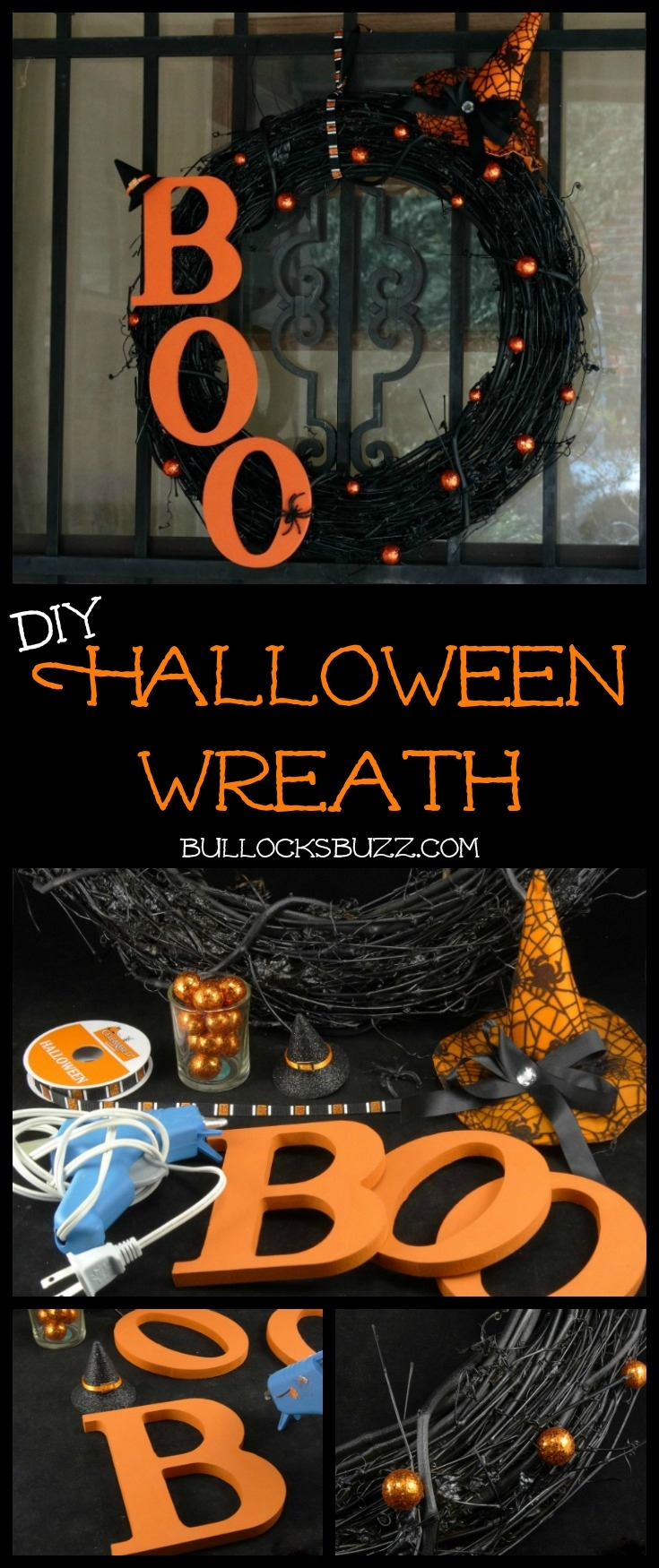Shockingly spooky and dreadfully fun, this DIY Halloween wreath is the perfect way to get your Halloween off to a screaming start!