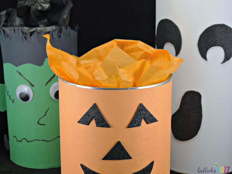 BOO Kit stuff container with tissue paper