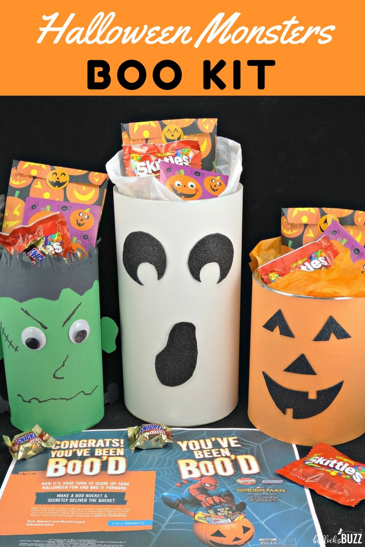 Create your own cute BOO Kit this Halloween and BOO It Forward! Surprise friends and family with these faBOOlous Halloween Monster BOO Kits filled with fun Halloween treats! #BOOItForward