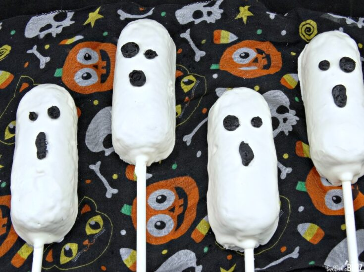 Twinkie Ghosts for Halloween