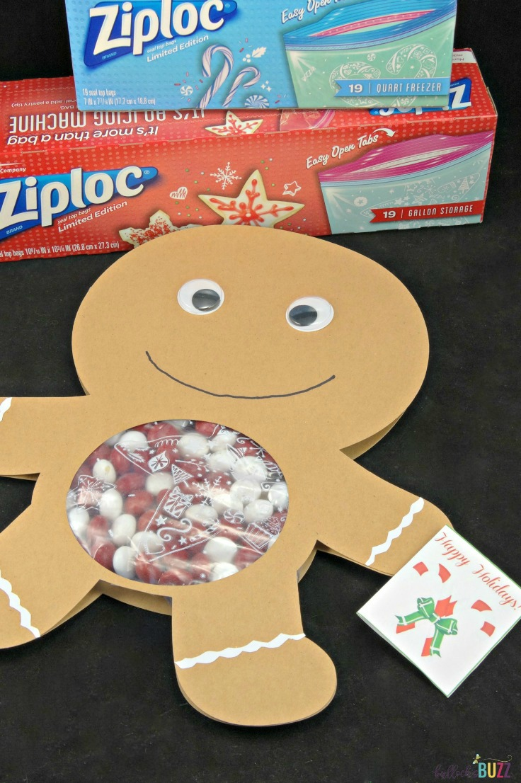 'Tis the season for adorable crafts, and this DIY Gingerbread Man Candy Card is the perfect way to spread holiday cheer to friends and family!