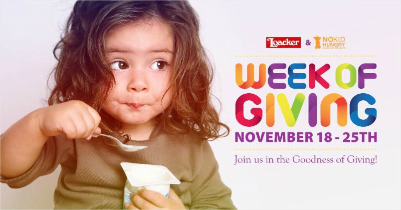 Loacker Week of Giving