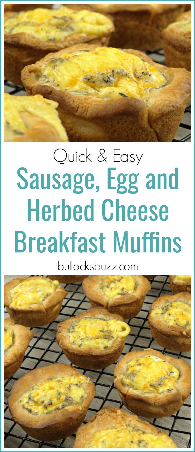 Herbed Sausage Muffins