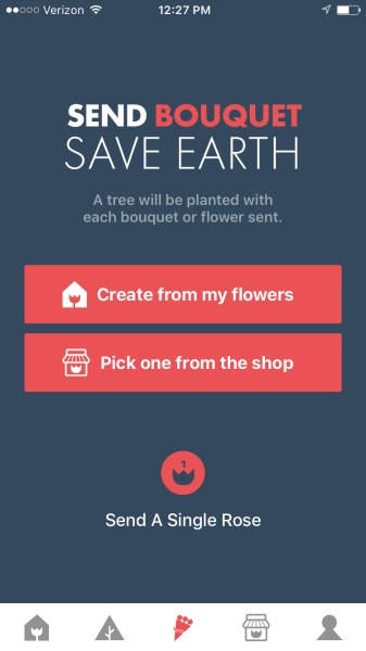 flowerling app buying flowers