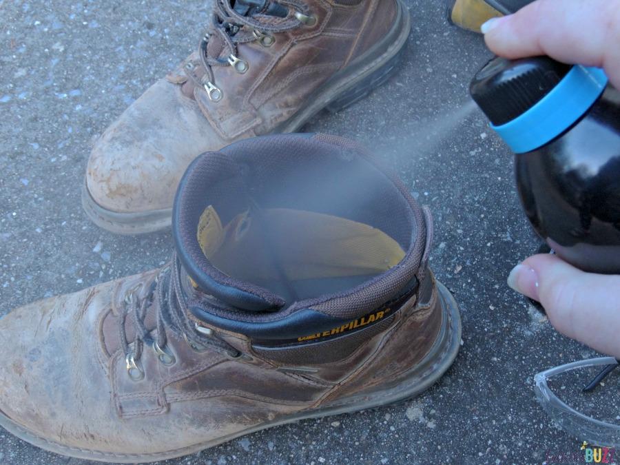 funkaway spray get rid of smells in boots