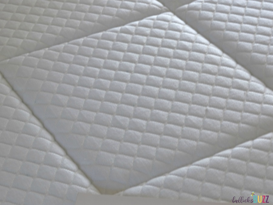 nectar mattress quilted top cover close up