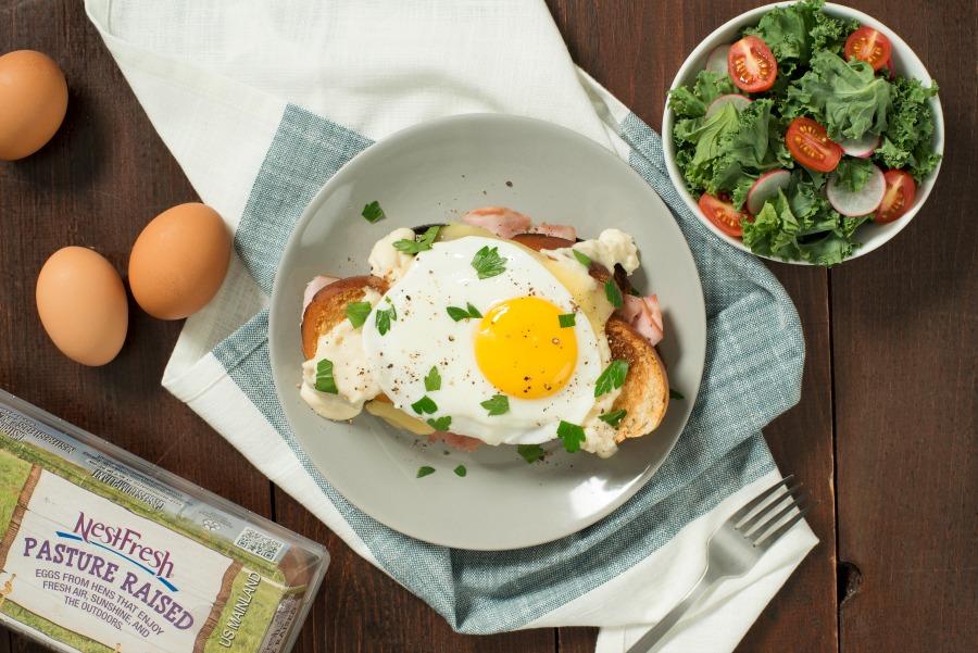 NestFresh Eggs Classic Croque Madame