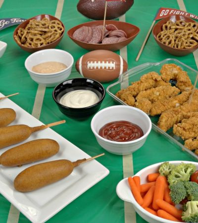 Tabletop Tailgating Appetizers: A Super Tasty Sideline Spread for Game Day
